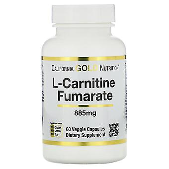 California Gold Nutrition, L-Carnitin Fumarate, European Sourced, Alfasigma, 88