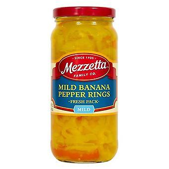 Mezzetta Mierne banánové korenie krúžky