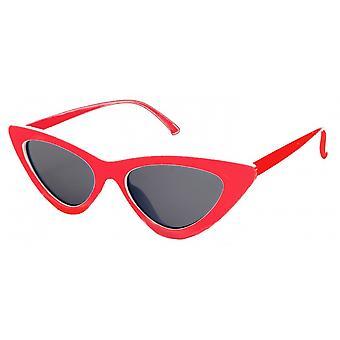 Sunglasses Women's Butterfly Kat. 3 red/black (20-045)