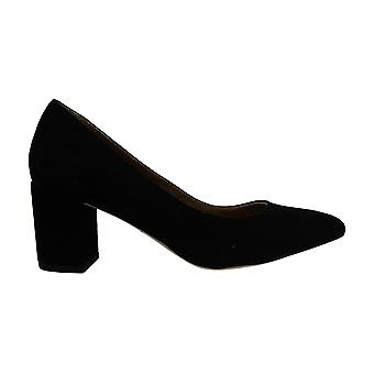 Corso Como Women's Regina Slip On Suede Dress Pumps Black Size 5.0M