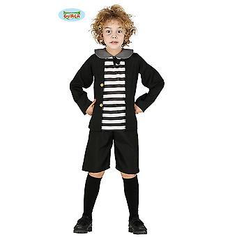 Aluno de espírito de menino fantasma assombrado traje de Halloween de sala de aula