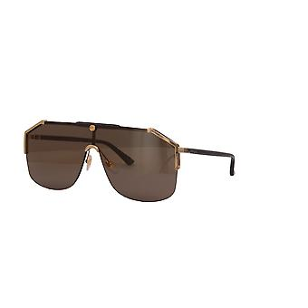 Gucci GG0291S 002 Gold-Havana/Brown Sunglasses