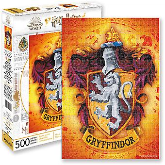 Harry Potter Gryffindor Crest 500 Piece Puzzle
