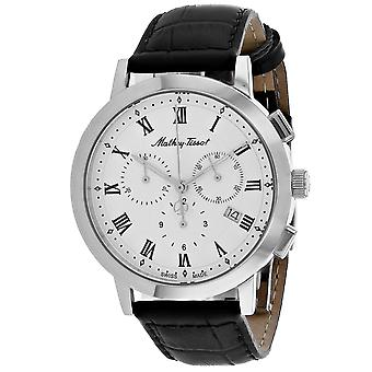 Mathey Tissot Men's Sport Classic White Dial Watch - H9315CHRLAI