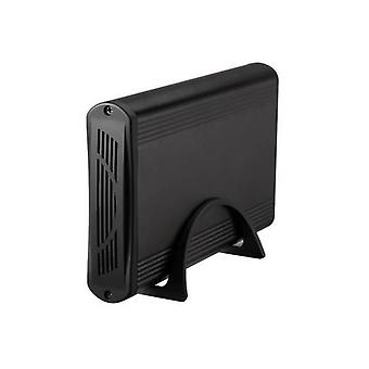 """Caixa Externa TooQ TQE-3526B HD 3.5"""" SATA III USB 3.0 Preto"""
