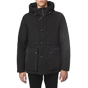 Woolrich Wocps2870ut1277100 Heren's Black Polyester Down Jacket