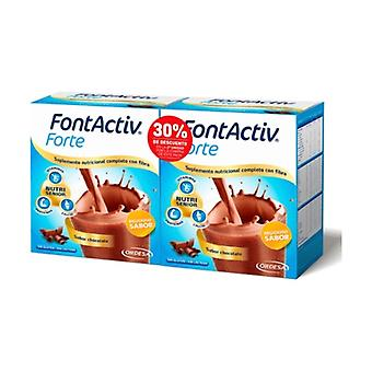 Duplo FontActiv Forte Chocolate Pack 2 units of 420g