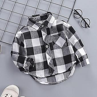 طفل قميص رقيقة الملابس الربيع الملابس الاطفال طويلة الأكمام قميص