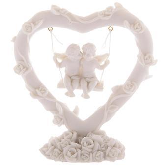 Cute Cherubs Floral Heart Swing X 1 Pack