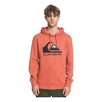 Quiksilver Comp Logo Hoodie - Redwood