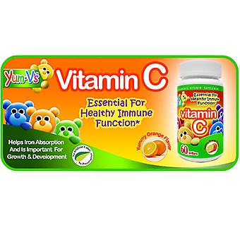 Dulce Probiotics Vitamin C Jellies, Orange 60 Chews