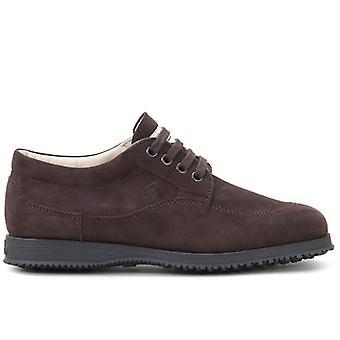 Hogan Traditionella Kvinnors Camoscio Sneakers