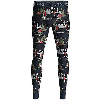 Bjorn Borg Winter Wonderland Long Johns Gift Set, Navy