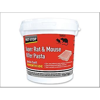 Pest Stop Super Rat / Egér Killer Tészta 15 x 10g PSSA06
