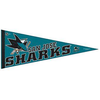 Wincraft NHL Felt Pennant 75x30cm - San Jose Sharks