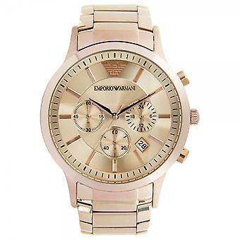 Armani Ar2452 Miesten Ruusukulta Classic Watch
