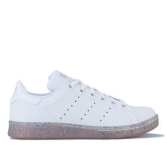 Girl's adidas Originals Junior Stan Smith Trainers in White