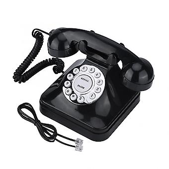 Stil Retro Vintage Antic Telefon Fix Numere de stocare Dial Retro