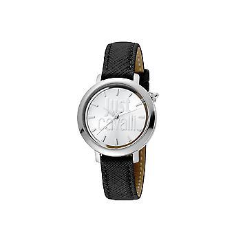 רק קוואלי JC1L007L0015 לוגו נשים & apos;s כסף שעונים