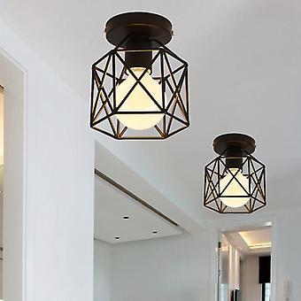Industrial Vintage Pendant Light Iron, Chandelier Pendant Light