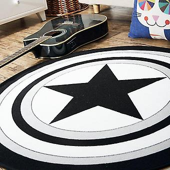 Captain America Shield Living Carpet
