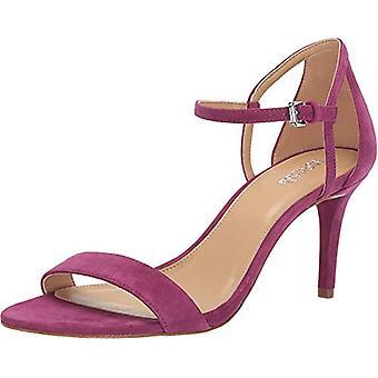 Michael Michael Kors Womens Simone Mid Sandal Leather Open Toe Casual Ankle Strap Sandals