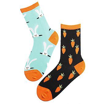 Calcetines de algodón y mujeres