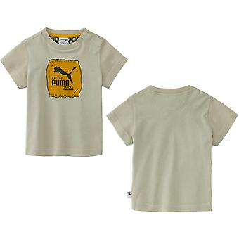 Puma x Tiny Cottons Classic Logo T-Shirt Infant Baby Kids Top 855109 02 RW91