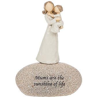Sentiment Stones Mum's Prydnad