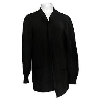 Anybody Women's Sweater Knit Open-Front Cardigan Black A373430