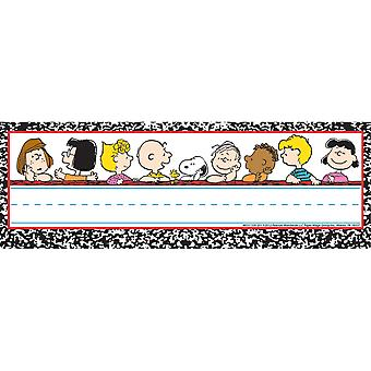 Peanuts Classic Characters Self-Adhesive Name Plates