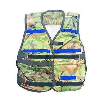 Taktisk Nerf Gun Ammunition og Body Armor Child Camouflage