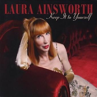 Laura Ainsworth-pidä se itsellesi [CD] USA tuonti