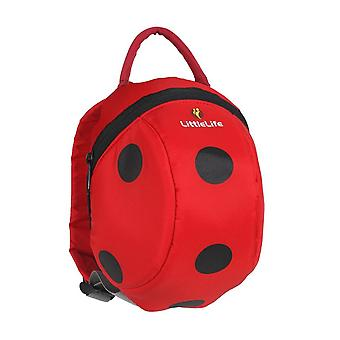 Littlelife Ladybird Toddler Pack With Rein Red