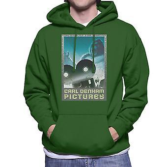 King Kong Carl Denham Pictures Men's Hooded Sweatshirt
