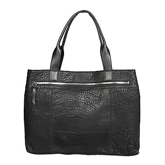 Carditosale Cf1403txc0010 Women's Black Leather Tote