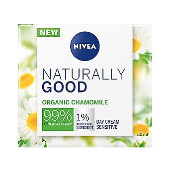 Nivea Naturally Good Organic Chamomile Sensitive Day Cream