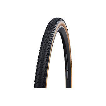 """Швальбе X-One Allround Производительность Складные шины No 33-622 (28x1,3 """"квота;) Классическая кожа"""