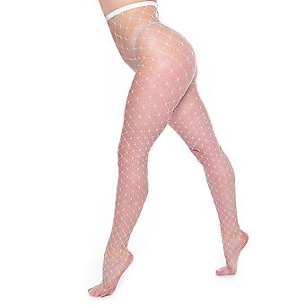 Pamela Mann Extra Large Net Whale Fishnet Tights