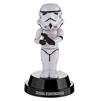 Amigo licenciado de energia solar colecionável - o stormtrooper original