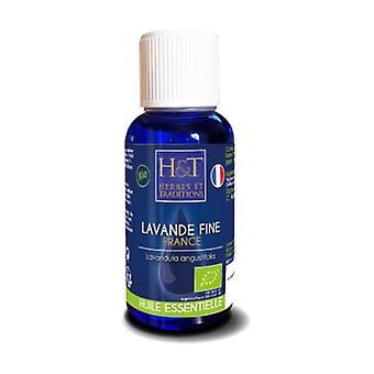 Organic Lavender Fine Oil (Lavandula angustifolia) 30 ml of essential oil