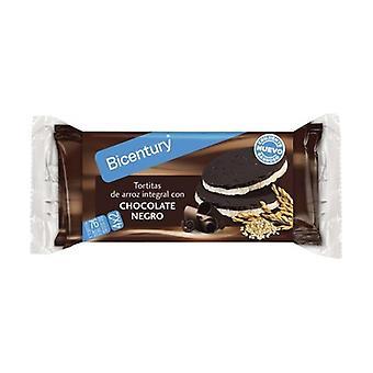 4x2 الشوكولاته الداكنة براون الأرز الكعك 130،4 ز