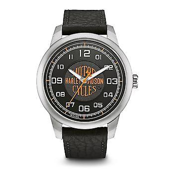 Harley Davidson 76A155 Men's Strap Wristwatch