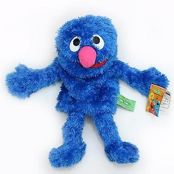 Szezám utcai hand bábjáték, nagy Elmo Cartoon Soft Plüss Baba Születésnap