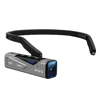 4k Camcorder Full Hd, Wearable Mini Camcorder With Gimbal Camera