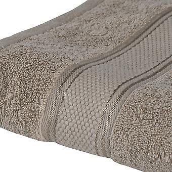 Asciugamano Ospite Colore Beige in Cotone, L40xP60 cm