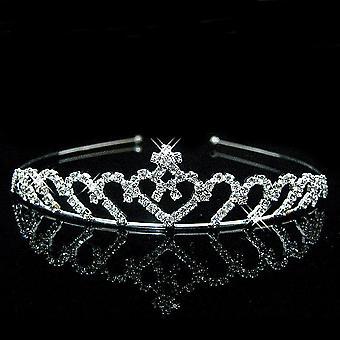 Princesa Crystal Tiaras y corona diadema para joyería para el cabello de niño