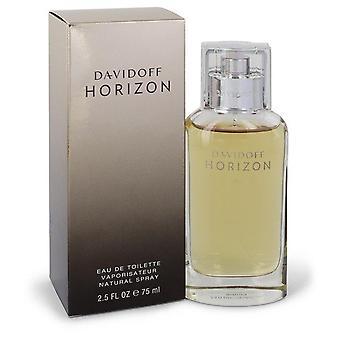 Davidoff Horizon Eau De Toilette Spray door Davidoff 2.5 oz Eau De Toilette Spray