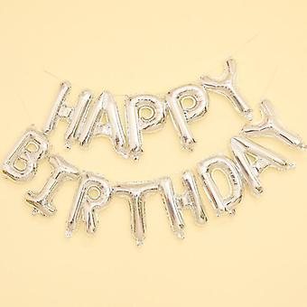 Happy Birthday Letter Balloon's Party Decoration