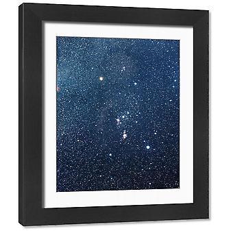 Konstelacja Oriona. Zdjęcie w ramce. Konstelacja Oriona Łowcy. Orion jest jednym z.